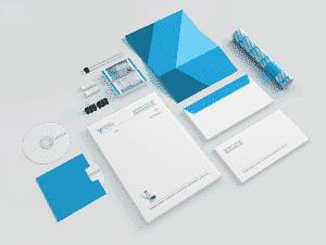 עיצוב גרפי ומיתוג לעסק - מגוון מוצרים, לוגו, ניירת, מעטפות, כרטיסי ביקור ועוד
