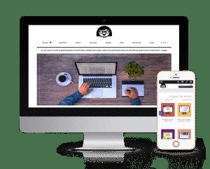 עיצוב ובניית אתר חנות אינטרנטית לכתבנית