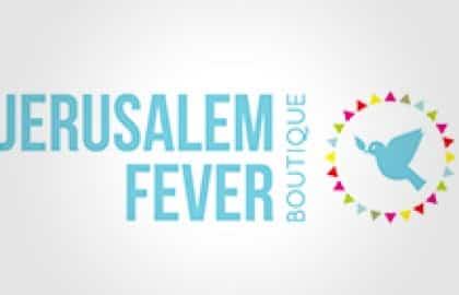 בניית אתר עבור:  Jerusalem Fever boutique